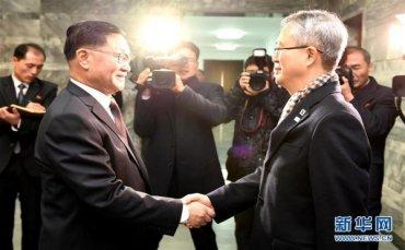 (国际)(1)朝韩就朝方艺术团访韩达成一致