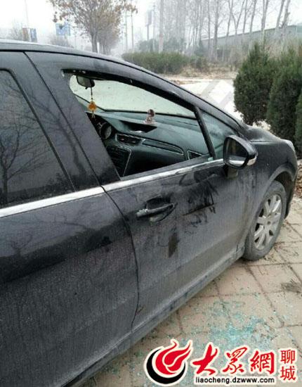 网曝聊城小区城翡翠多辆车被砸半年来已发生贵芜湖最别墅图片