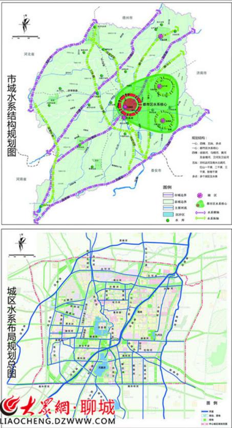 聊城市城区水系专项规划征求意见,打造54公里水上公交线