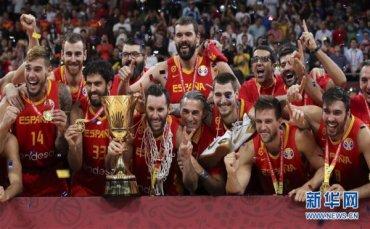 (篮球世界杯)(3)篮球――西班牙队夺冠
